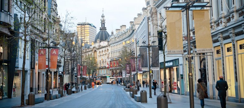 Winkelen in Antwerpen Meir